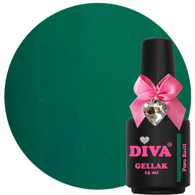 DIVA gellak Pure Basil (tasty collection)