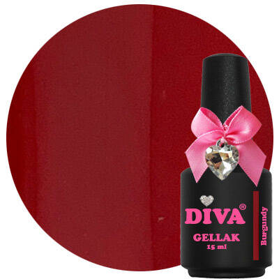 DIVA gellak Burgundy (can you resist collection)