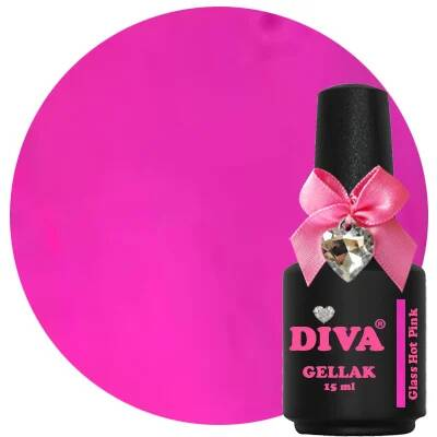 DIVA gellak glass pink (color your dreams collection)