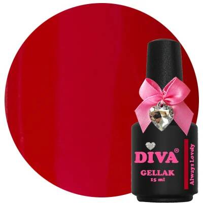 DIVA gellak Always Lovely (lust in a bottle collection)