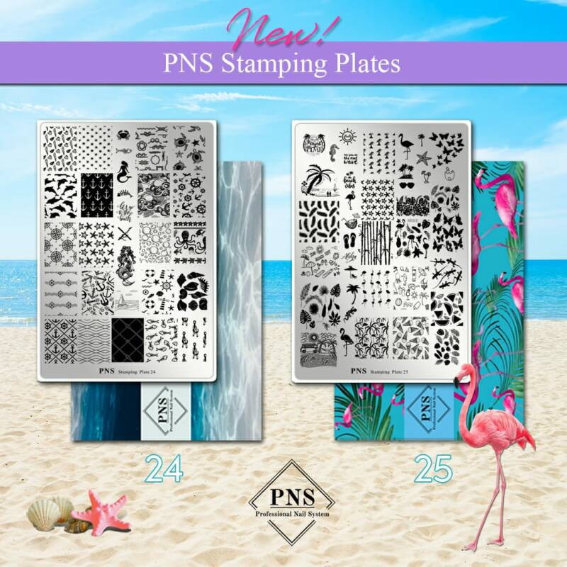 PNS stamping plates 24 & 25 combi pack