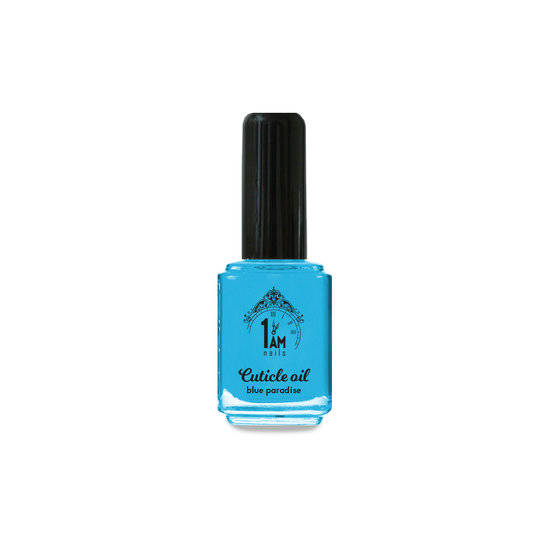 1AM nagelriemolie blue paradise (kokos) 5ml