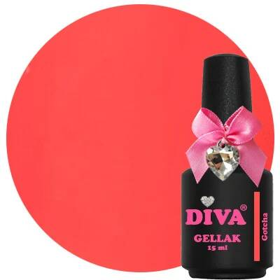 DIVA gellak Gotcha (the color of affection collection)