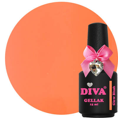 DIVA gellak Glow Blush (dress your nails collection)