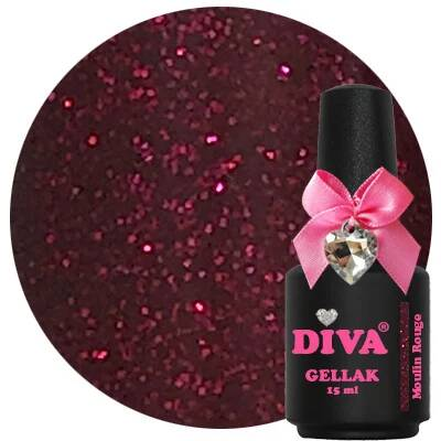 DIVA gellak Moulin Rouge (love at first sight collection)