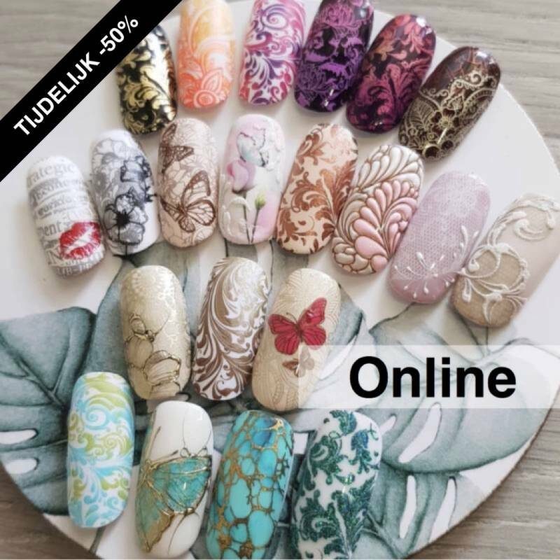 Online stamping workshop level 1 (direct online te volgen)
