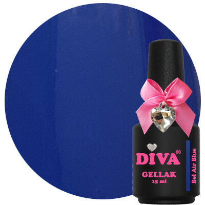 DIVA gellak Bel Air Blue (color blocking collection)