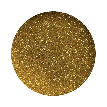 Lenks glitters in pot - goud