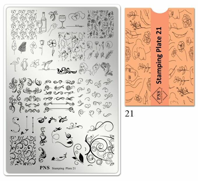 PNS stamping plate 21