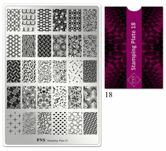 PNS stamping plate 18