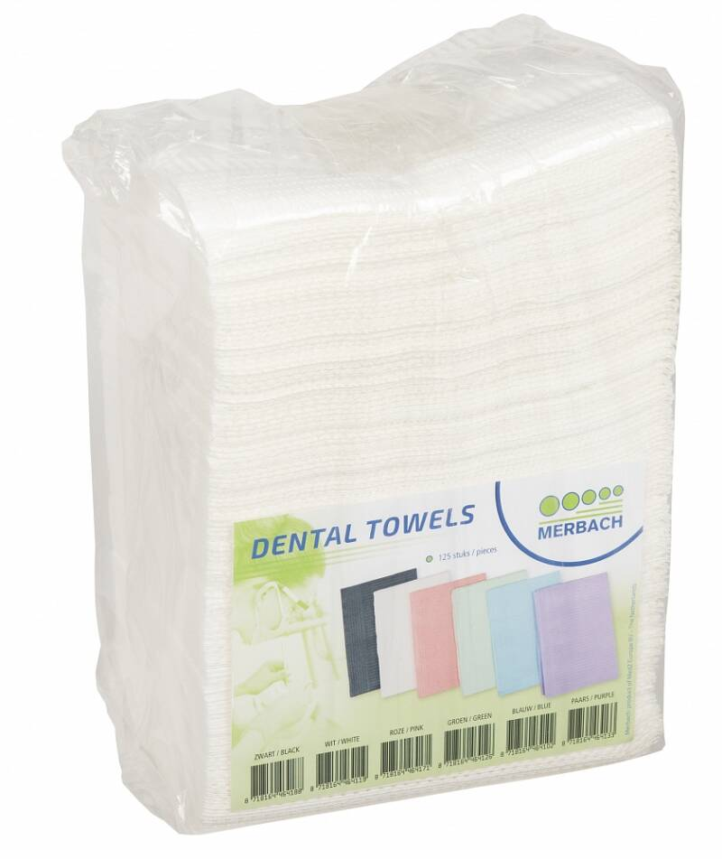 Table/dental towel wit 125st