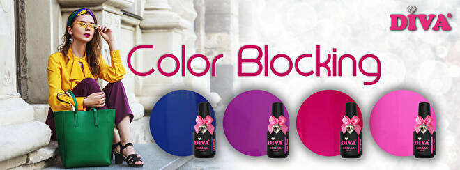 DIVA gellak Color Blocking collection