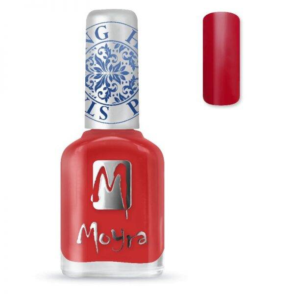 Moyra (stempel) nagellak sp02 red