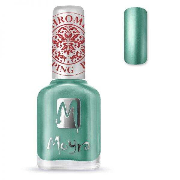Moyra (stempel) nagellak sp27 chrome green
