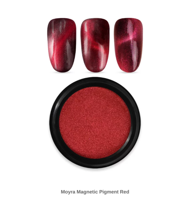 Moyra magnetic pigment 02 red