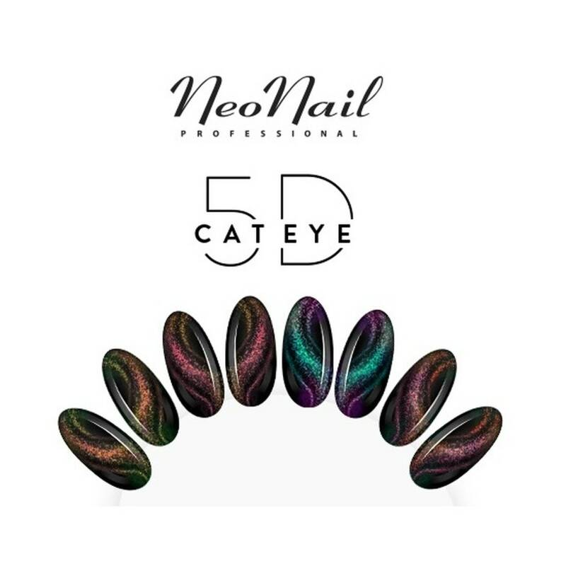 Neonail gelpolish cateye 5D collection + gratis magneet