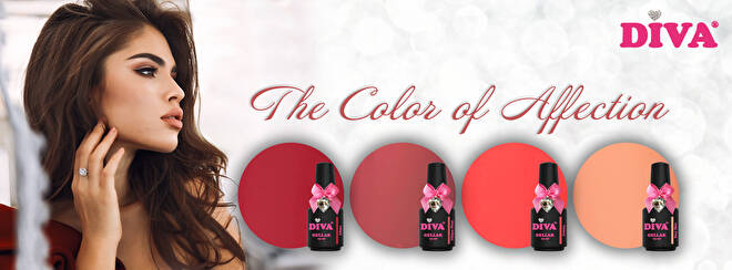 DIVA gellak The Color Of Affection collection