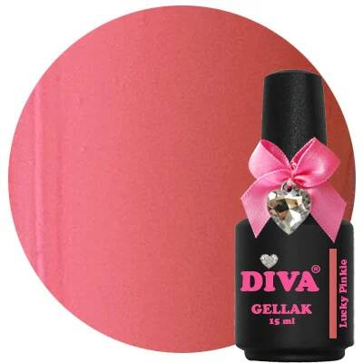 DIVA gellak Lucky Pinkie (never fully diva collection)
