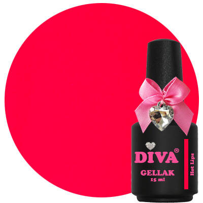 DIVA gellak Hot Lips (catch the kiss collection)