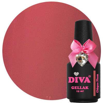 DIVA gellak Chique Plum (the color of affection collection)
