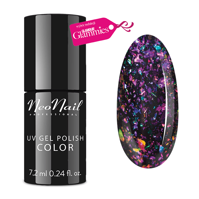 Neonail gelpolish Falling Star (starglow collection)