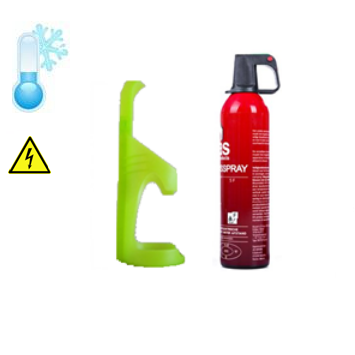 Brandblusser auto 750ml -10˚ incl. houder (3jr)