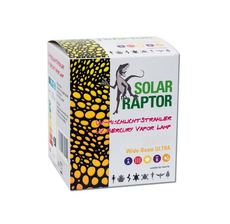 Solar Raptor - Kwikdamp lamp