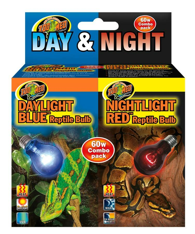 ZooMed, Day/Night Reptile Bulb Combo DBC-1E