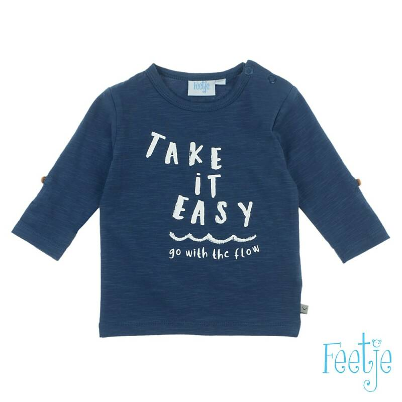 F  Longsleeve Take It Easy - Smile & Wave
