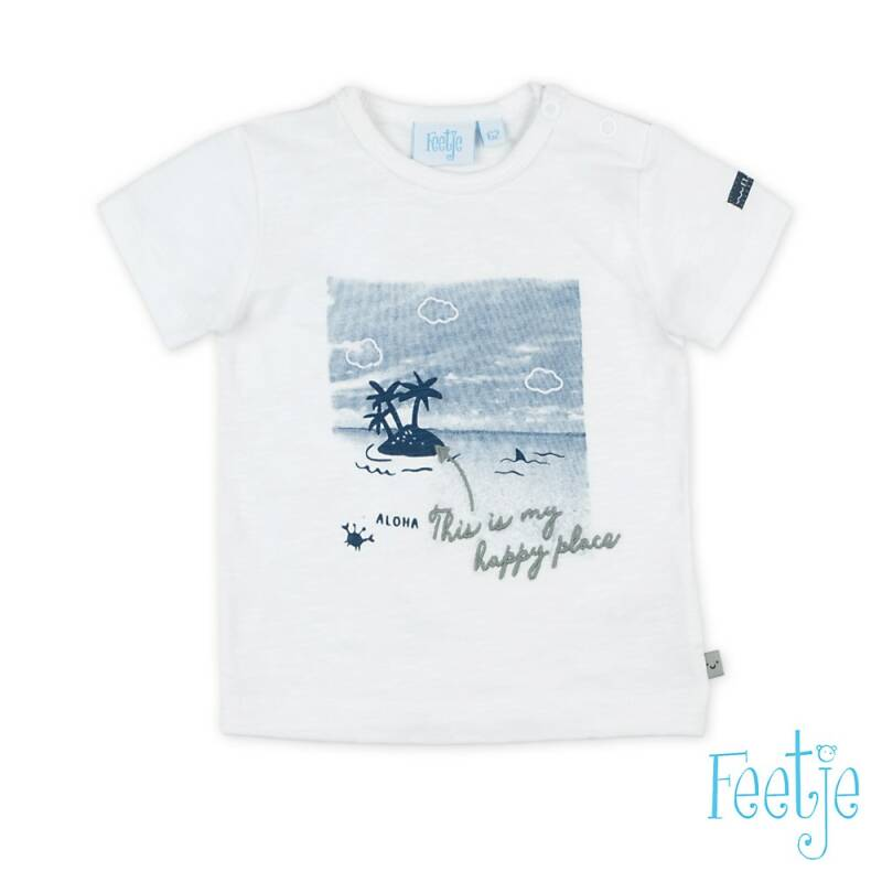F  T-shirt photoprint - Smile & Wave