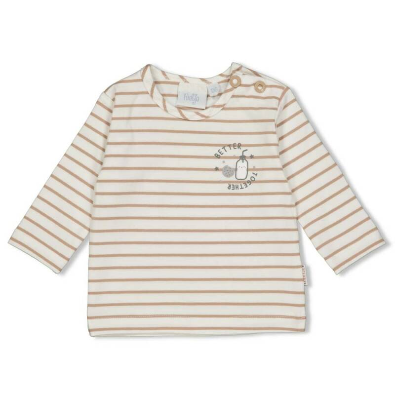 Longsleeve streep - Mini Cookie