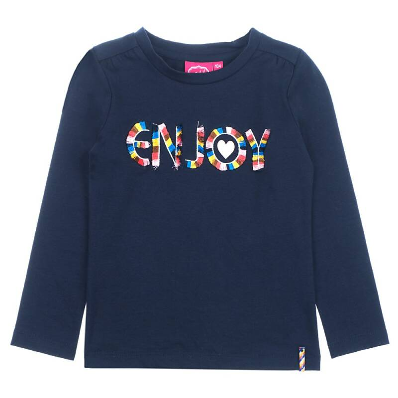 Longsleeve Navy Enjoy