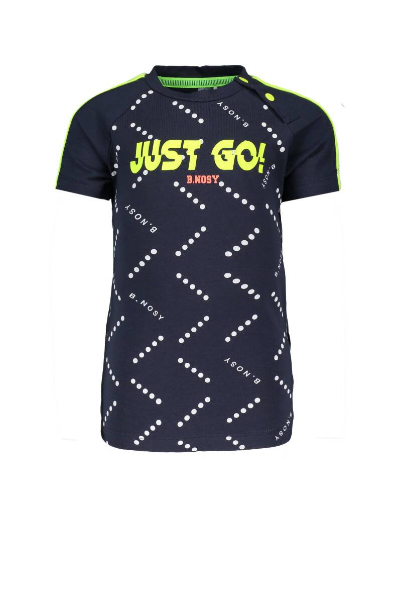 T-shirt ''just go!''