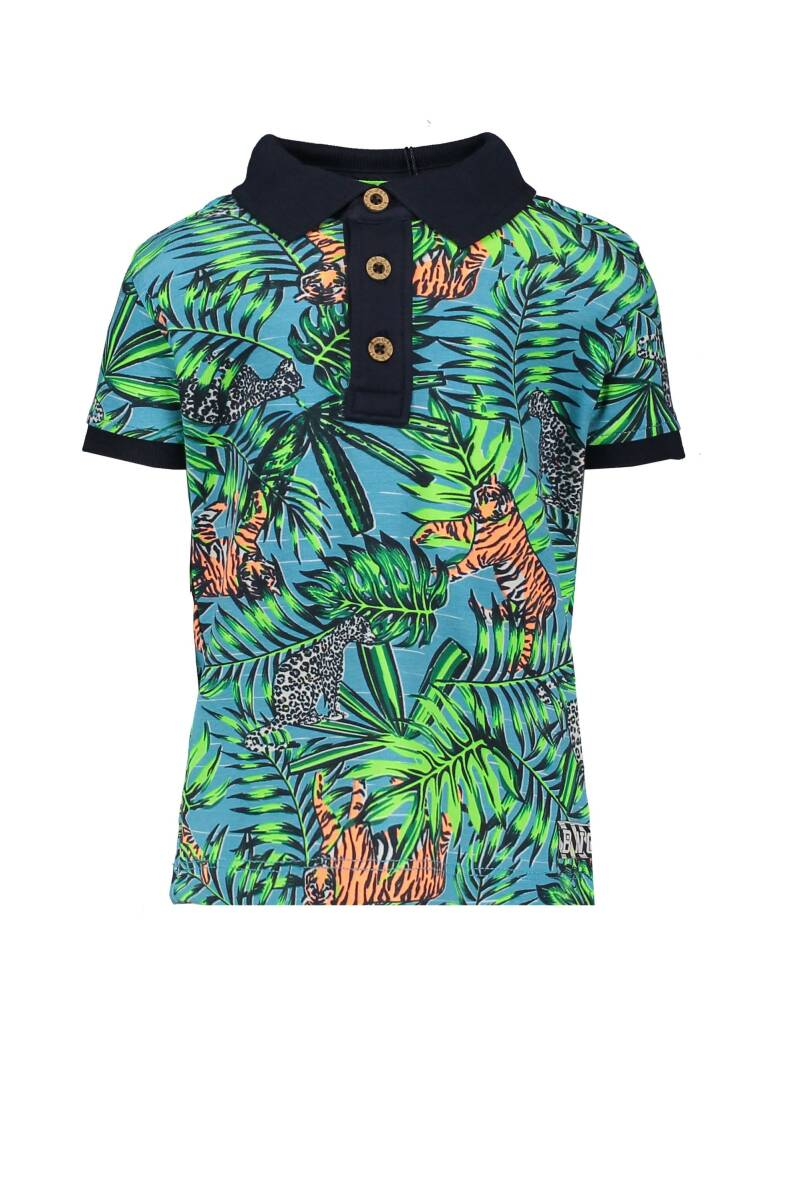 Polo jungle print