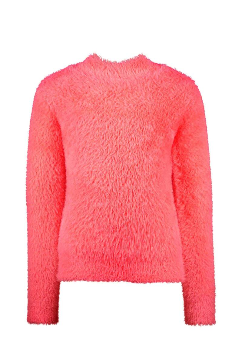 Funny sweater with slits on both sides