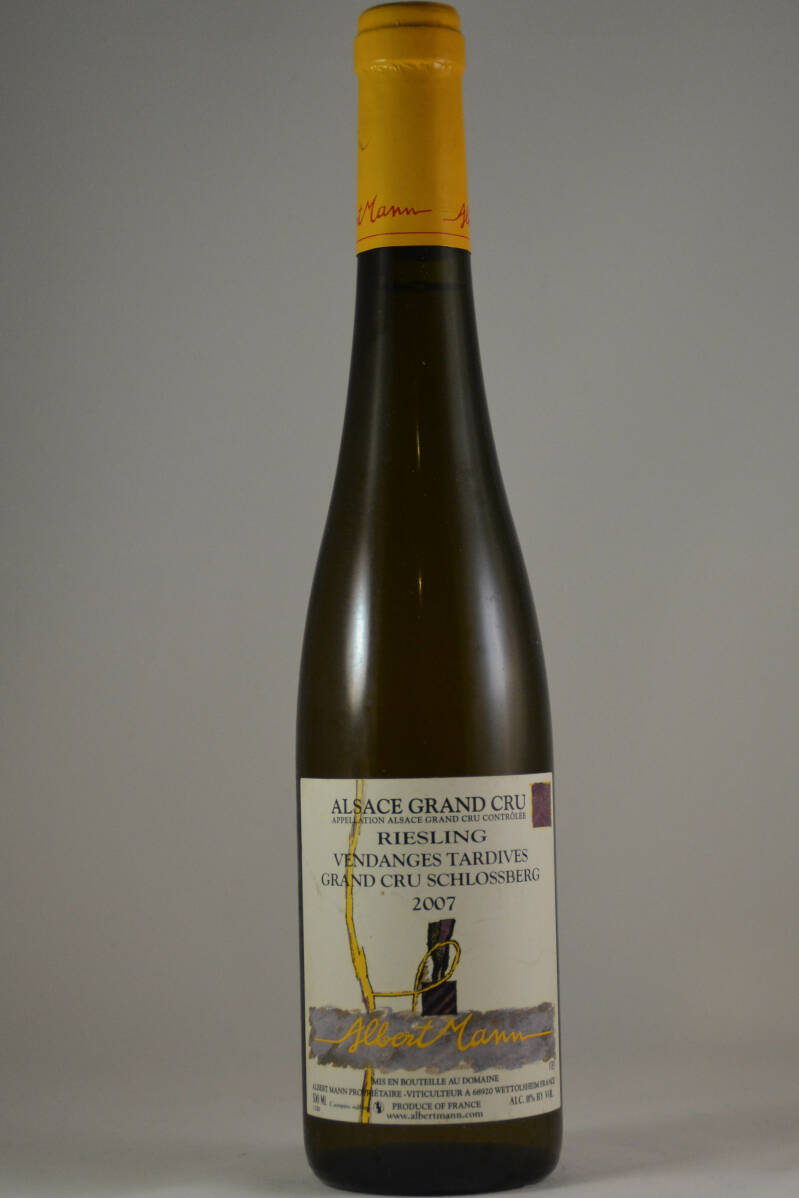 Albert Mann, Riesling Vendanges Tardives Grand Cru Schlossberg 2007 (0,5 l.)