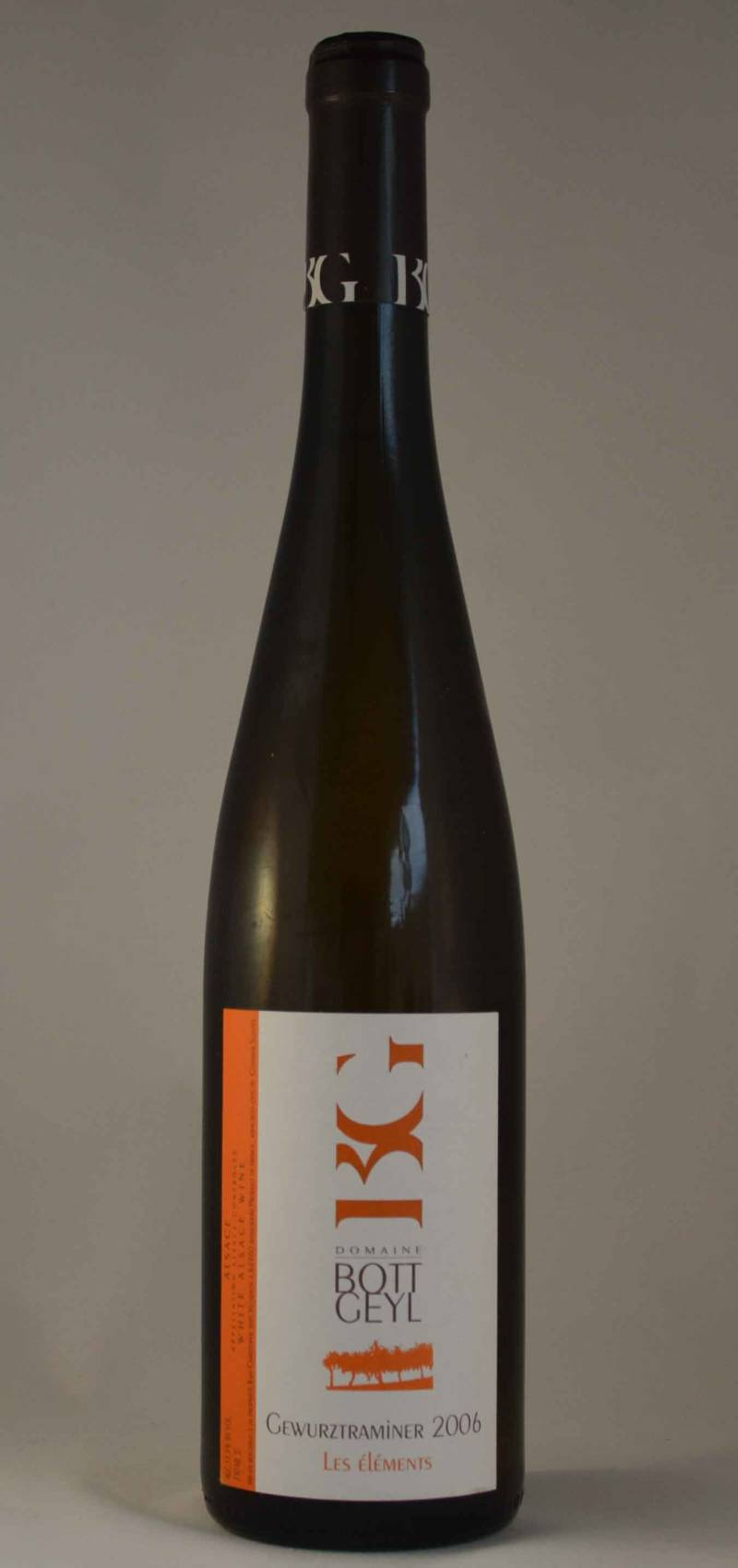 Bott Geyl, Gewürztraminer Les Elements 2006