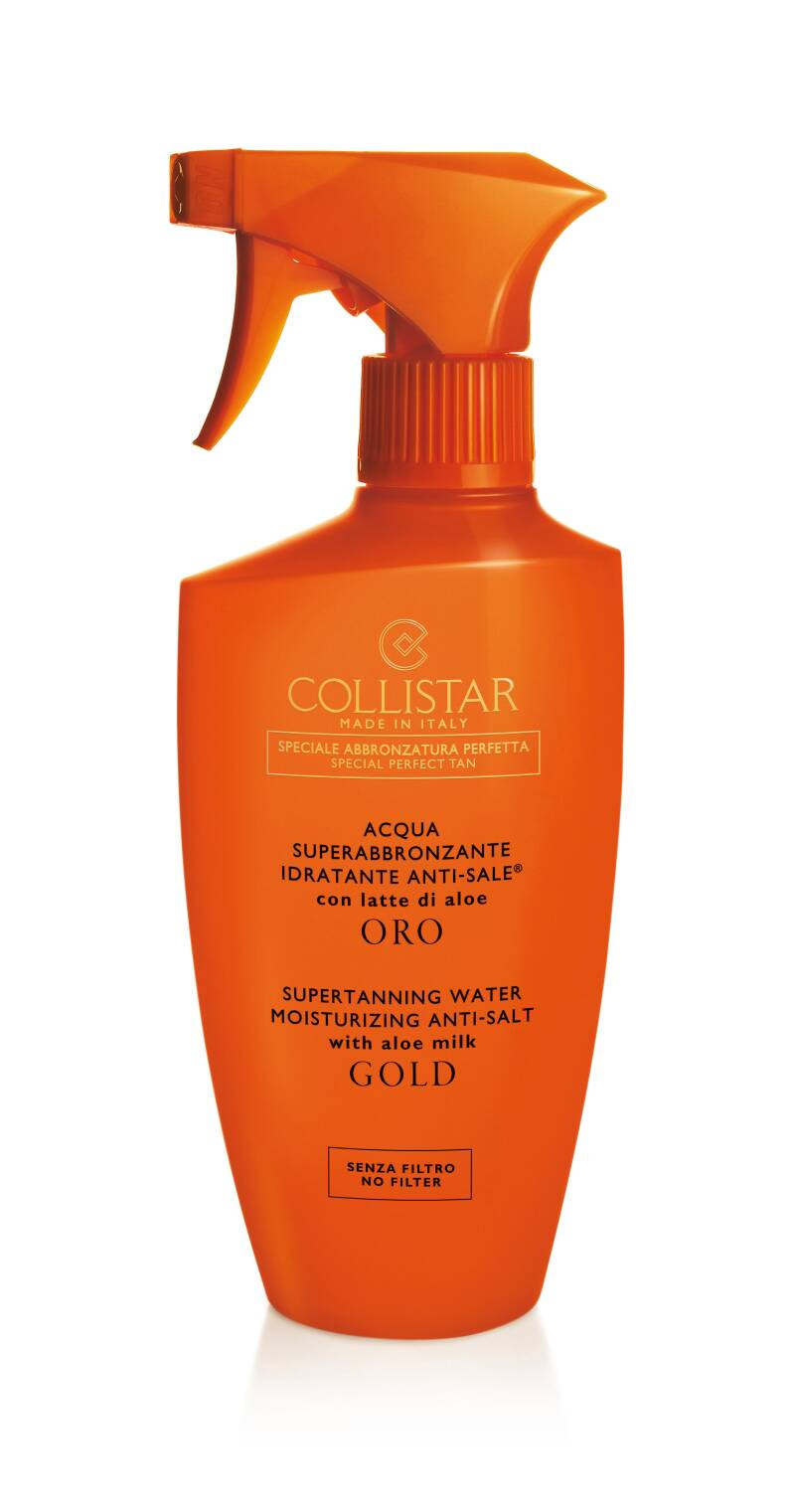 Supertanning Water With Aloe Milk Gold 400 ml
