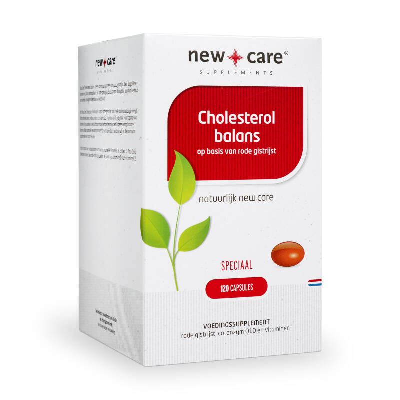 New Care Cholesterol Balans 120 Capsules