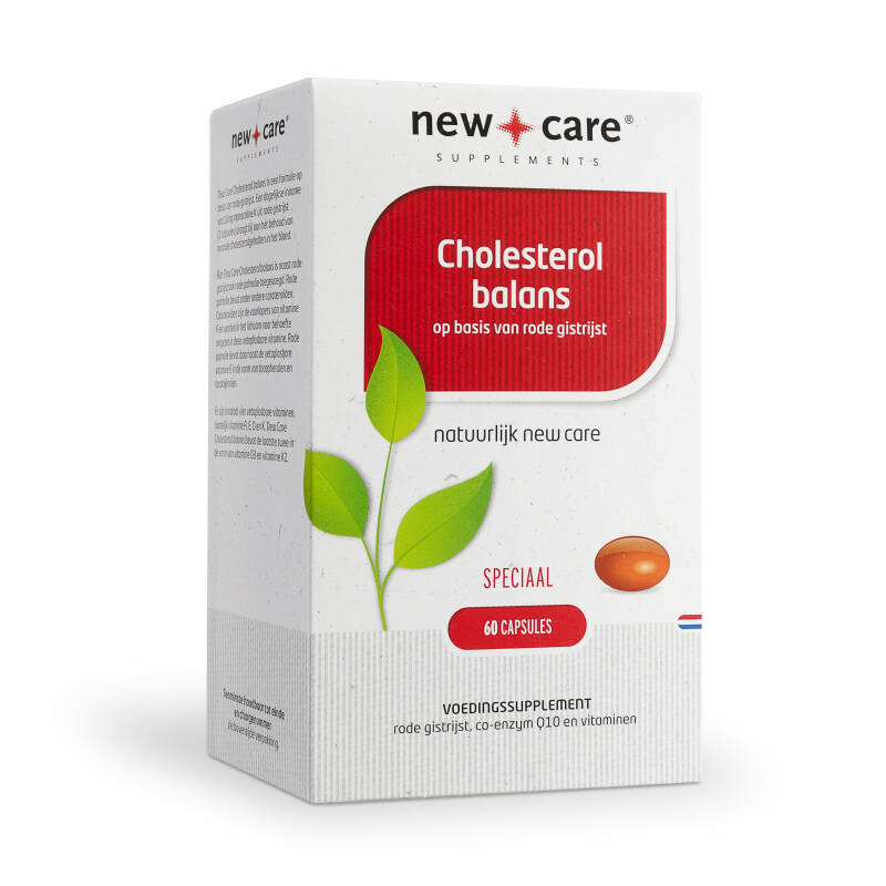 New Care Cholesterol Balans 60 Capsules