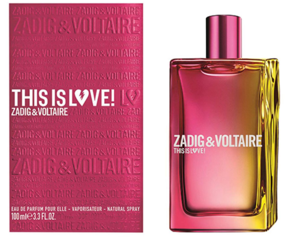 Zadig & Voltaire this is love 50ml