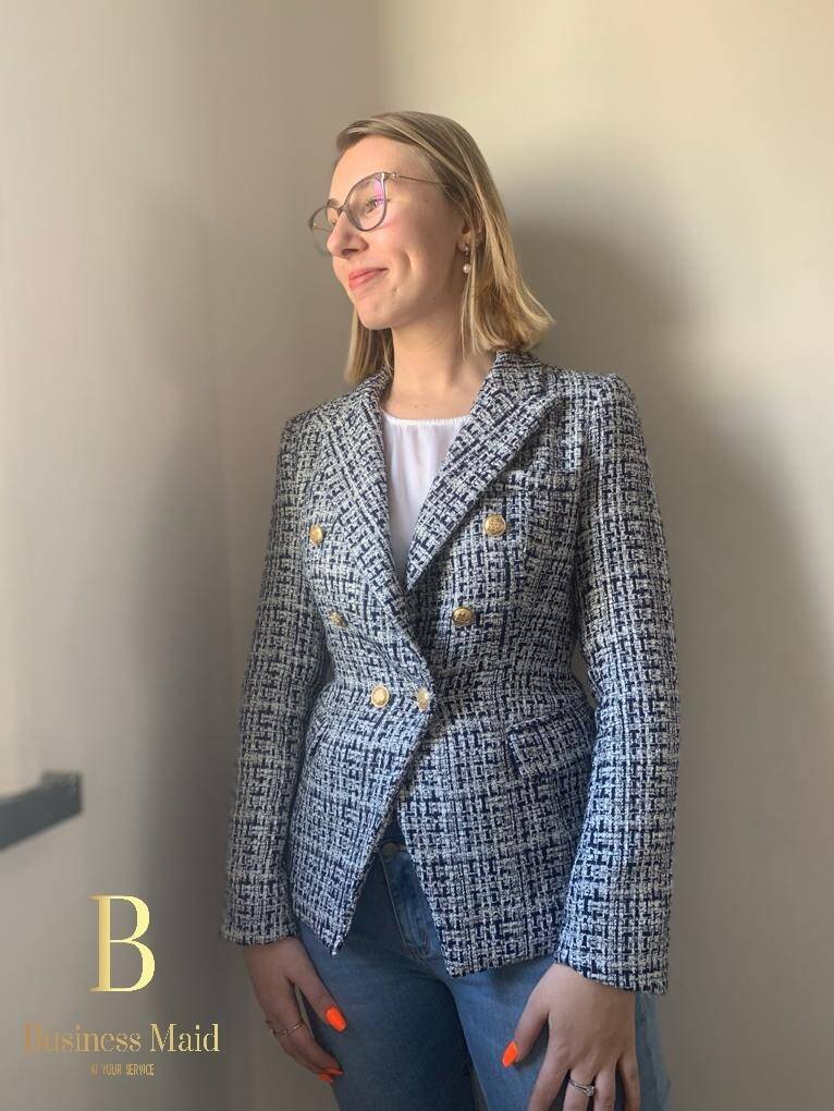 BWF Blazer in tweed
