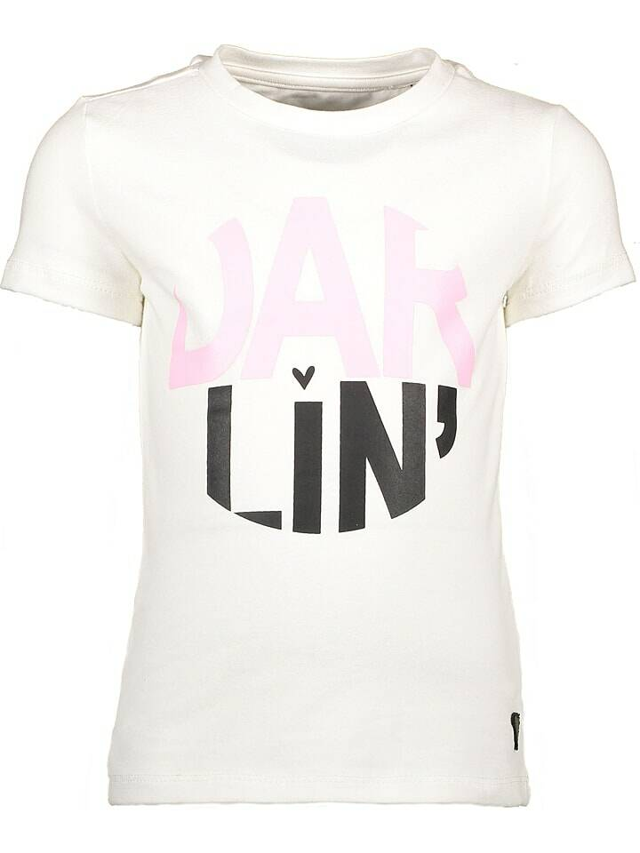 Moodstreet | T-Shirt Darlin Wit