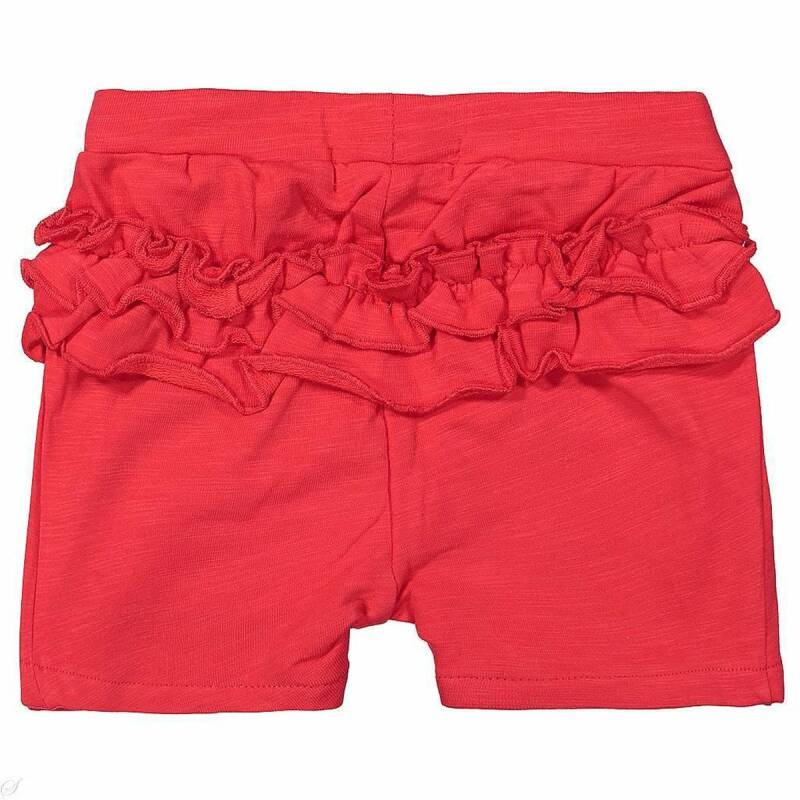 Name It | Short Red Ruffle