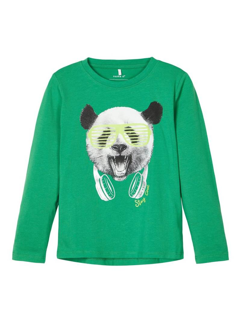 Name It | Longsleeve Panda Groen