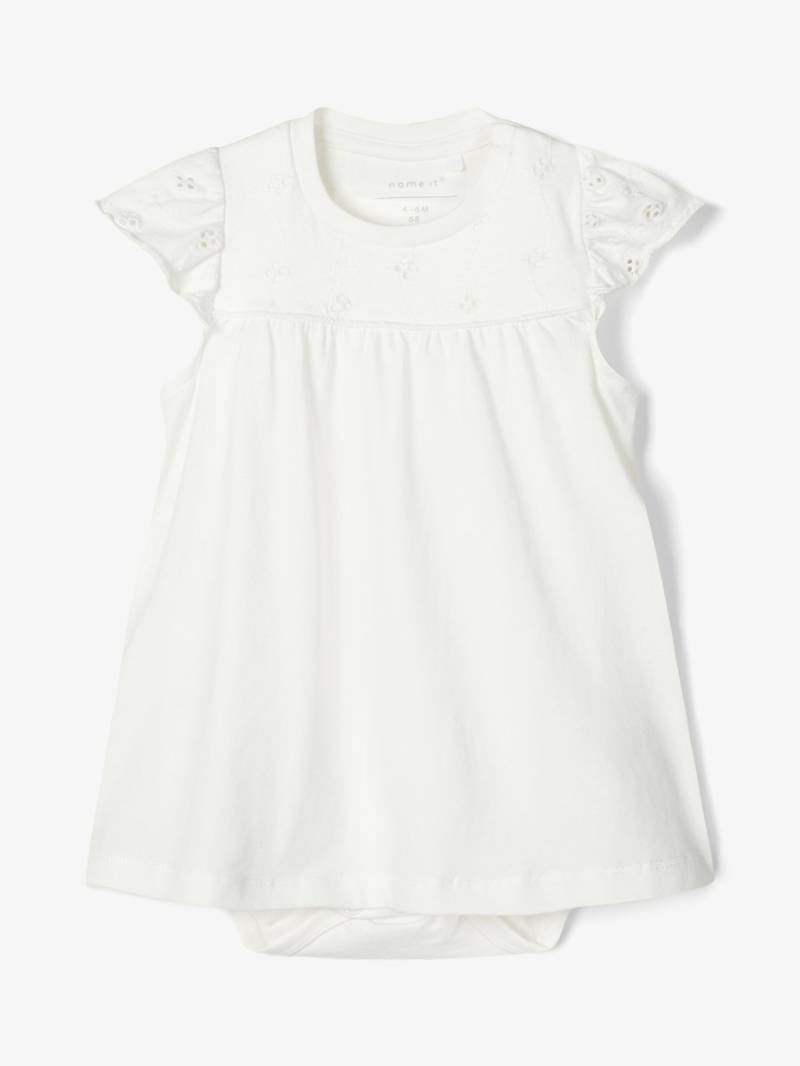 Name It | Jurk / Romper Broderie Anglaise Wit Ferike