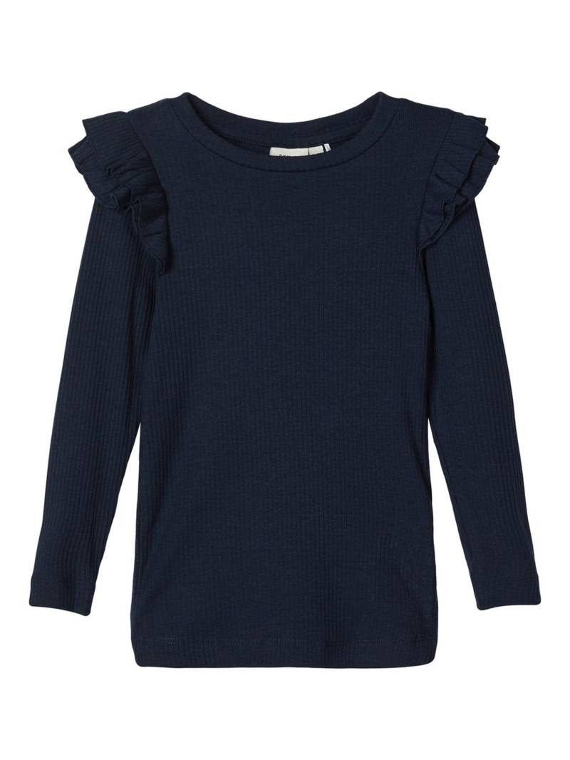 Name It | Longsleeve Rib Donkerblauw Dosina