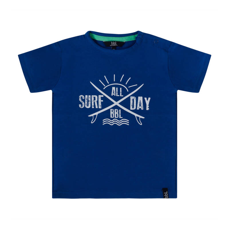 Beebielove | T-Shirt Blue Surf All Day