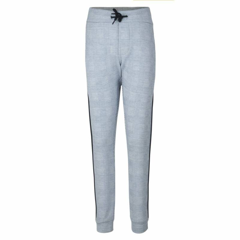 Jumping The Couch   Sweatpants Geruit Lichtblauw