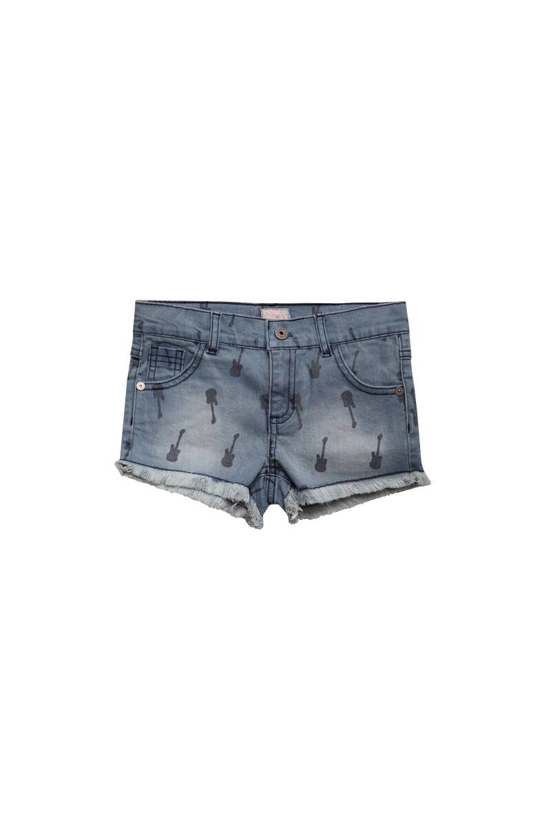 Little Miss Juliette | Denim Short
